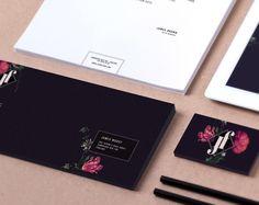 JF BOUTIQUE   Brand Identity by Valeria Santarelli, via Behance