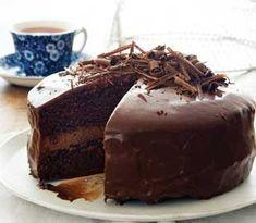 Charmain se hemelse sjokoladekoek Cupcake Recipes, Baking Recipes, Cupcake Cakes, Dessert Recipes, Baking Tips, Cup Cakes, Bread Recipes, Easy Recipes, Kos