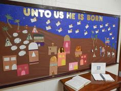 catholic school bulletin boards | December 2012 Bulletin Board