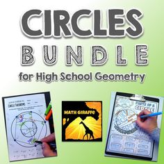 This set of five activities is perfect for High School Geometry students.The blend of puzzles, activities, and proofs offers a mix of fun and rigor that can be spread throughout the circles unit as supplemental activities!Check out the preview file for more detail.Here's what's included:Parts of a Circle Doodle NotesCircle Theorems - Angle PuzzlesCircles ProofsCircle Theorems Guided InquiryCircle Theorems: Always, Sometimes, Never