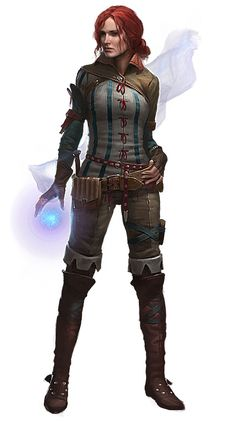 Triss Merigold // The Witcher 2