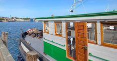 Entire home/apt in Seattle, United States. Stay on a historic 1927 75 ft tugboat, renovated to include all the modern conveniences of today, for an unforgettable vacation! Houseboat Rentals, Houseboat Living, Small Houseboats, Sailing Charters, Sleepless In Seattle, Tiny House Movement, Tug Boats, Tiny House Living, Sustainable Architecture