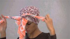 رستكة / سويها بنفسك : ثلاثه طرق لعمل الـ turban او العمه
