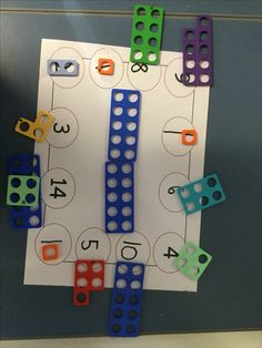 This is an activity from the White Rose Hubs document for Mastery in Maths. Using numicon shapes enabled the children to solve the word problem - add each line to Numicon Activities, Problem Solving Activities, Nursery Activities, White Rose Maths, Mastery Maths, Maths Eyfs, Year 1 Maths, Continuous Provision, Math Challenge
