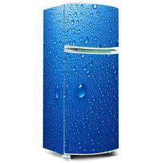 Envelopamento de geladeira - Envelopamento de geladeira Gotas