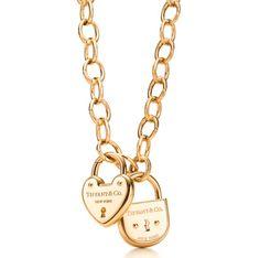 Tiffany's love lock #necklace. #jewelry