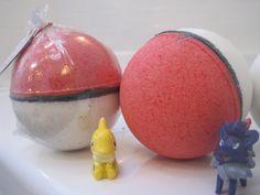 NEW POKEBOMS Bath bombs with Pokemon by BerwynBettysBathShop
