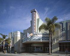Scenes Of Los Angeles, The Ventura Canvas Print / Canvas Art by Everett