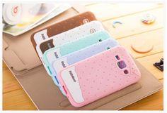 Samsung Galaxy J1 J5 J7 A8 A9 A7 A5 A3 Cartoon 3D Cute ice cream case for Girls