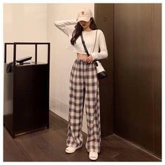 Korean Casual Outfits, Korean Outfit Street Styles, Korean Fashion Dress, Korean Fashion Casual, Style Outfits, Ulzzang Fashion, Summer Fashion Outfits, Cute Casual Outfits, Mode Outfits