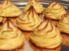 Pommes Duchesse Cooking Chef, Easy Cooking, Cookbook Recipes, Cooking Recipes, Good Food, Yummy Food, Xmas Food, Snacks Für Party, Food To Make
