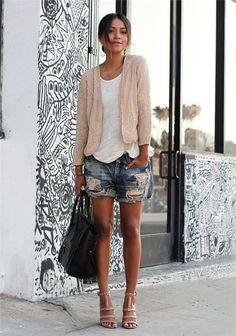 Perfect boyfriend short outfit for summer