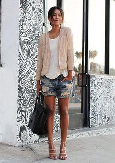 Black dress shorts vaqueros