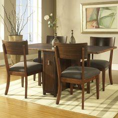 Somerton Dwelling Perspective 5 Piece Dining Set & Reviews | Wayfair