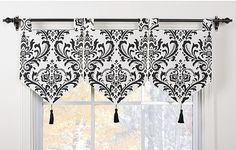 Banner Valance Custom Made to Order by Idealwindowfashions on Etsy, $69.77