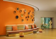 Hotel Missoni in Kuwait blends dynamic use of color, shapes and graphic patterns