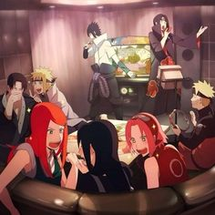I don't even know what's going on in this. XD All I know is that Naruto is being an honorable best friend, as always, playing tambourine for Sasuke, and Itachi and Sasuke are singing. Otaku Anime, Anime Naruto, Anime Pokemon, Naruto Shippudden, Naruto Comic, Naruto Cute, Manga Anime, Itachi Uchiha, Naruto Shippuden Sasuke