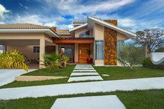 Veja lindas casas térreas super confortáveis e luxuosas para…