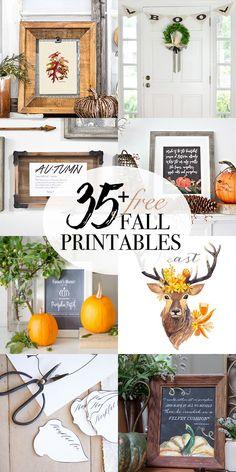 35+ Free Fall Printa
