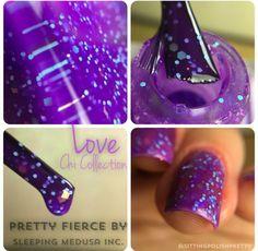 Love | A Pretty Fierce Indie Nail Polish by Sleeping Medusa #Nail #Nails #Polish