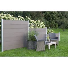 lowes fence panels canada manufacturer ,easy install composite fence on existing Norway #beautiful #garden #wpc #fencing