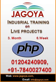 Get the best wordpress training classes in Noida and become the wordpress expert from the Jagoya Training classes. We also offer the placement after the training class.