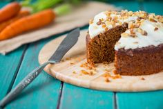 This unique carrot cake recipe uses cooked carrots instead of raw carrots. Give it a go next time you have leftover cooked carrots. Cooked Carrots, Food Cakes, Cupcake Cakes, Hungarian Recipes, What To Cook, Carrot Cake, Recipe Using, Love Food, Pastries