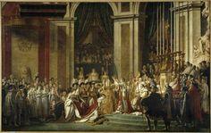 sacre de l'empereur napoleon &josphine a notre dame 2 dec 1804 david
