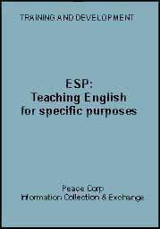 Teaching English for specific purposes