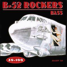 Everly – soldes accessoires : jeu de cordes guitare basse electrique 6240 » b52 – bass » – 40/100 (4 cordes)