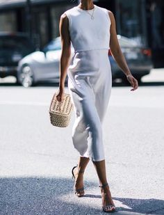Nice white summer dress