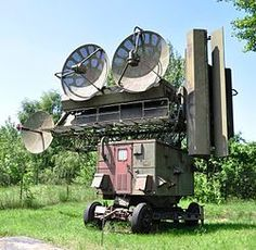 SNR-75 Fan Song fire control radar of the S-75 Dvina (SA-2 Guideline)