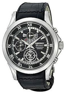 Seiko Premier Chronograph Perpetual # SPC053P1. Please Visit us at the following URL: http://www.bodying.com/seiko-premier-chronograph-perpetual-spc053p1/watches/20789