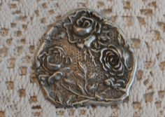 Ornate Roses and Leaves Art Nouveau Victorian Edwardian Style