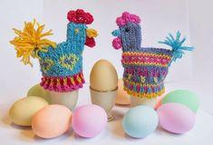 Designs by Cecilie Kaurin and Linn Bryhn Jacobsen Crochet Birds, Crochet Dolls, Knit Crochet, Crochet Hats, Hens And Chicks, Tea Cozy, Sugar Art, Easter Crafts, Hygge