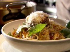 Spaghetti and Meatballs from CookingChannelTV.com