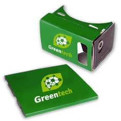 Innovatieve giveaway: Bedrukte Google CardBoard VR Bril V1 - (folded) Virtual Reality bril karton Vr, Virtual Reality, Giveaways, Google, Carton Box, Eyeglasses