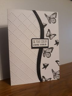 Carte de condoléances - de tout coeur avec vous - carte décès - deuil