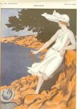 """la parisienne magazine, """"Reverie"""", 1922"""
