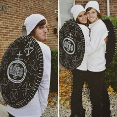 30 Halloween 2017 Couples Costumes For You And Bae That Are Totally Cute Couple Halloween Costumes, Diy Couples Costumes, Food Costumes, Funny Costumes, Homemade Costumes, Halloween Kostüm, Halloween Cosplay, Diy Costumes, Costume Ideas