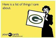 Green Bay all the way