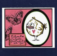 WT515 God's Special Work of Art by gabalot - Cards and Paper Crafts at Splitcoaststampers