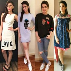 VoteSummer Outfit inspiration from Kriti Sanon. Which one is your favorite ?  @BOLLYWOODSTYLEFILE  ! #instabollywood #bollywood #India #Indian #mumbai #hairstyle #fashionista #photooftheday #Dilwale #DforDilwale #ibdilwale #instafashion #instapic #Throwback #instalife #instadaily #Fashion #kritisanon #Kriti #stylefile #bollywoodstylefile #bollywoodfashion