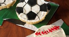 Father's Day Cookie Recipe Idea (use these soccer for bday)