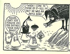 Moomin apology gets a very similar response to that they would receive at our house if they had committed the same crime
