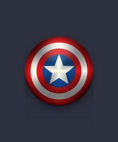Create the Captain America Shield Icon in Adobe Illustrator #vectorgraphics #illustratortutorials