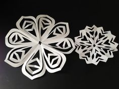 Watch me show you how to hand cut some paper snowflake/ doilies. These are great for holiday decorations!    To see more pics, please visit my blog: http://nataliecreations.tumblr.com  Follow me on Twitter: https://twitter.com/#!/nhuhua  Like me on Facebook: http://www.facebook.com/pages/Natalies-Creations/301998915465?ref=tn_tnmn    Music: Wish Backg...