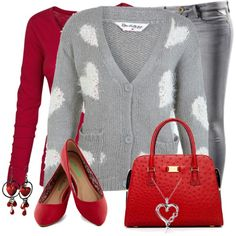 """Hearts for Valentines Day"" by daiscat on Polyvore"