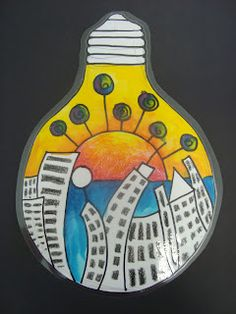 Surrealism - The world in a lightbulb
