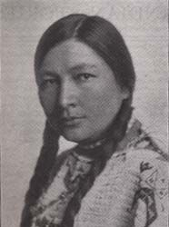 Gertrude Bonnin (1876 - 1938) Sioux writer and pan-Indian activist. Born in Yankton Sioux Agency, SD